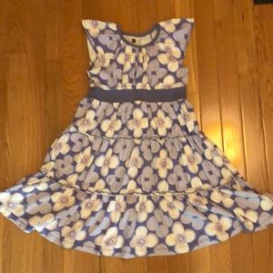 Tea collection tiered twirly flower dress